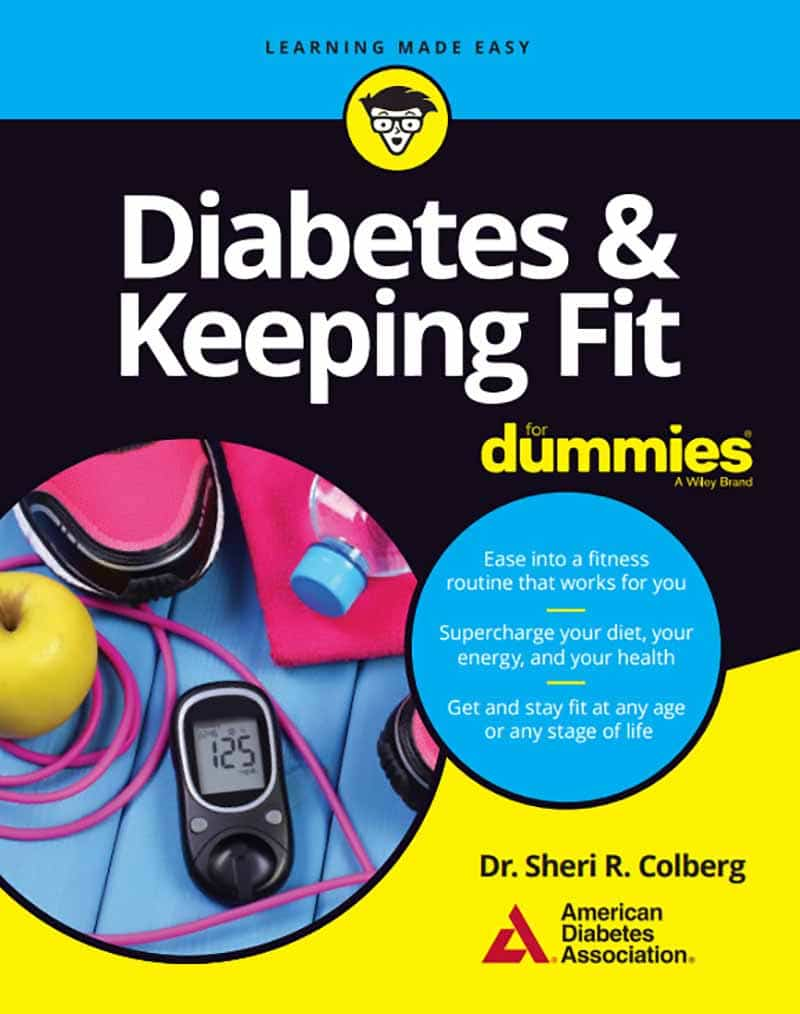 Cover image of Diabetes & Keeping Fit for Dummies