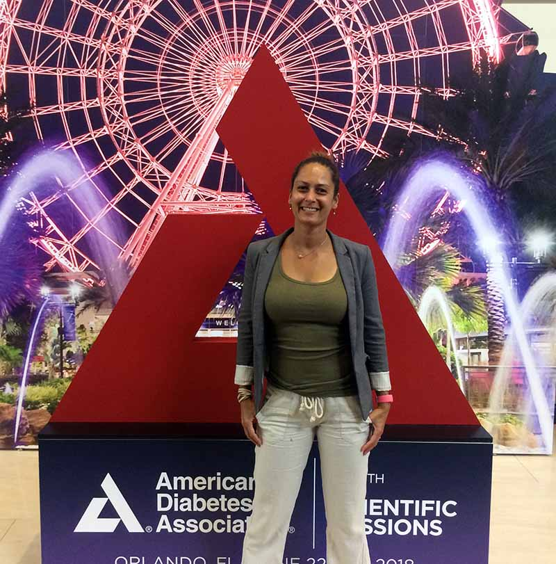 Christel at the ADA Scientific Sessions