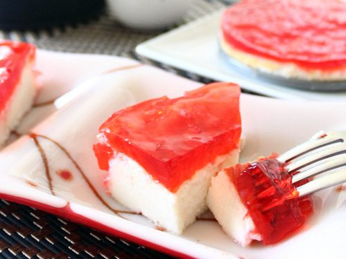 Healthy protein cheesecake