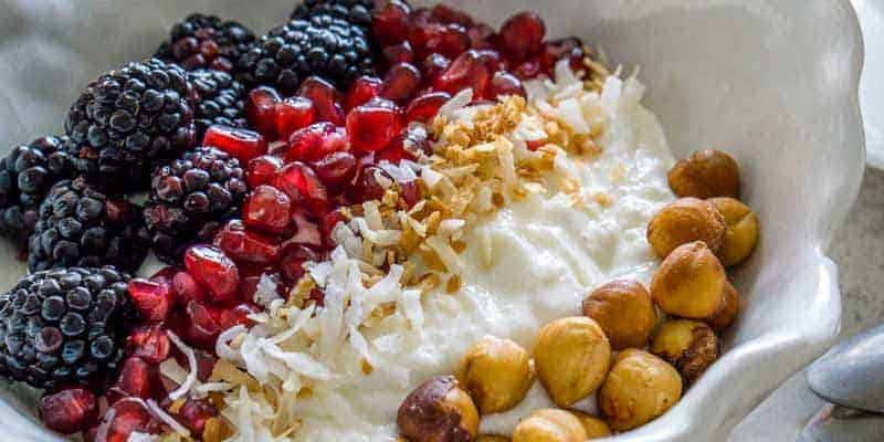 Whipped Cottage Cheese Breakfast Bowl | Diabetes Strong