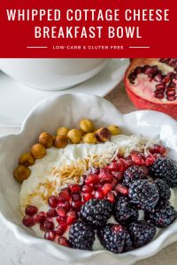 Whipped Cottage Cheese Breakfast Bowl