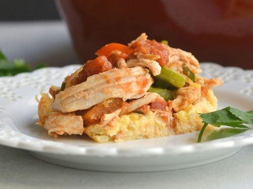 Chicken cauliflower casserole
