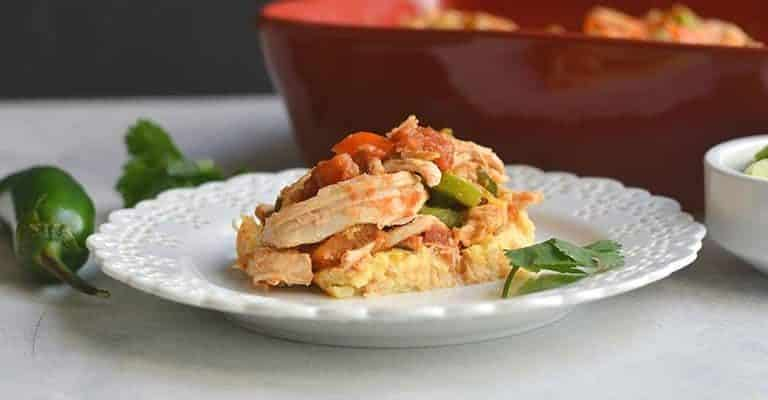 Chicken Cauliflower Casserole (Low Carb)