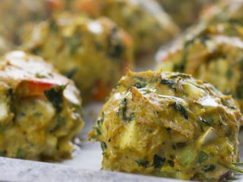 Healthy turkey meatballs without breadcrumbs