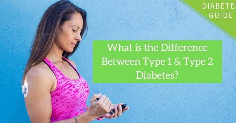 What's the difference between type 1 and type 2 diabetes?