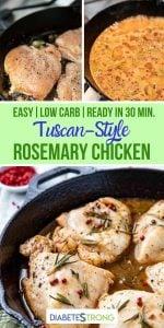 Tuscan style rosemary chicken