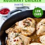 Tuscan style rosemary chicken