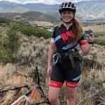 Lauren Salko with Tandem insulin pump