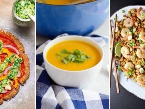 10 low carb cauliflower recipes