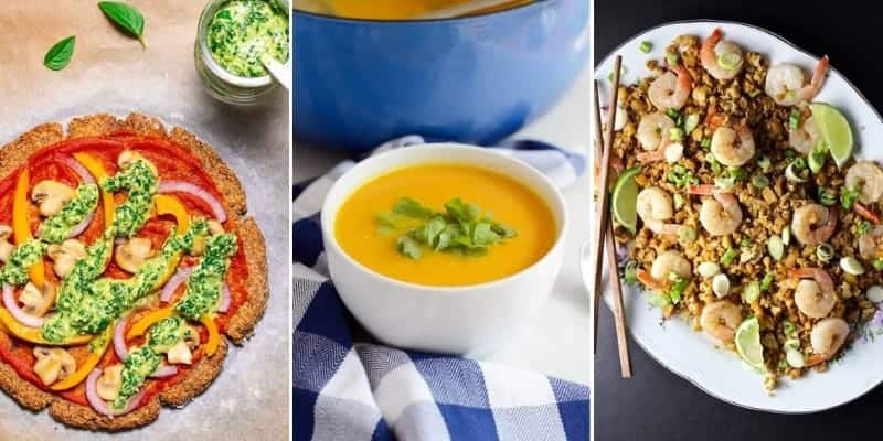 10 low carb cauliflower recipes
