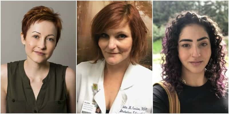 3 women who are in recovery from diabulimia