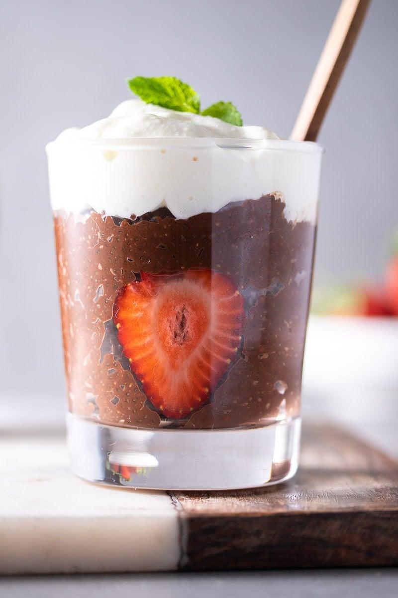 Chocolate Chia Seed Pudding