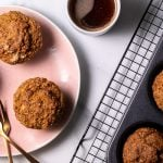 low-carb carrot cake muffins