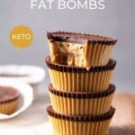 Keto fat bombs on a table