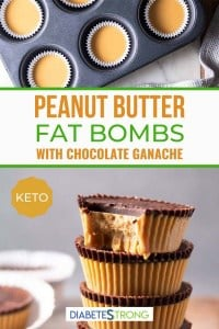 Two images of keto fat bombs