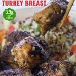Marinated turkey breast