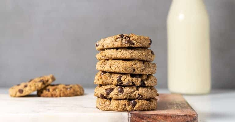 Low-carb Chocolate Chip Cookies Featured Image