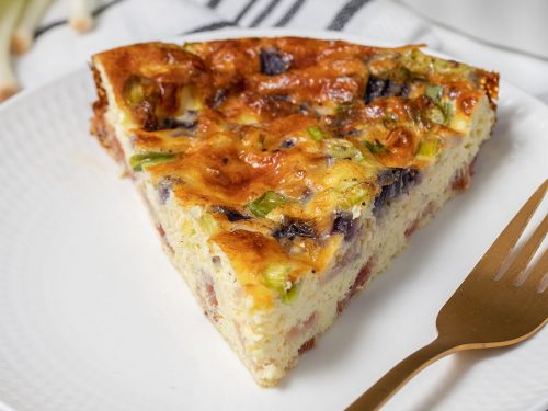 Crustless Low Carb Quiche