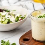 Featured image for the low-carb ranch dressing