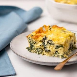 featured image for breakfast keto egg bake