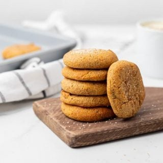 Featured image for keto pumpkin cookies
