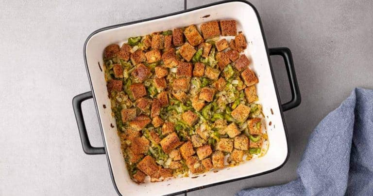 Featured image for the low carb stuffing