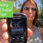 How to Bring High Blood Sugar Down Fast