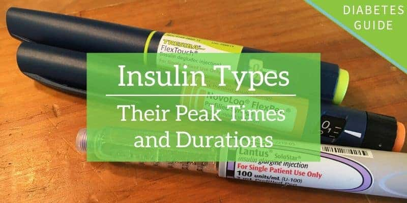 Insulin Types: Their Peak Times and Durations
