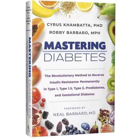 The mastering diabetes book cover