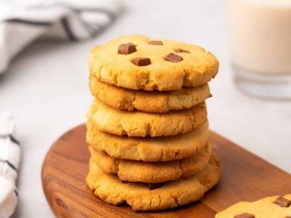 coconut flour cookies square