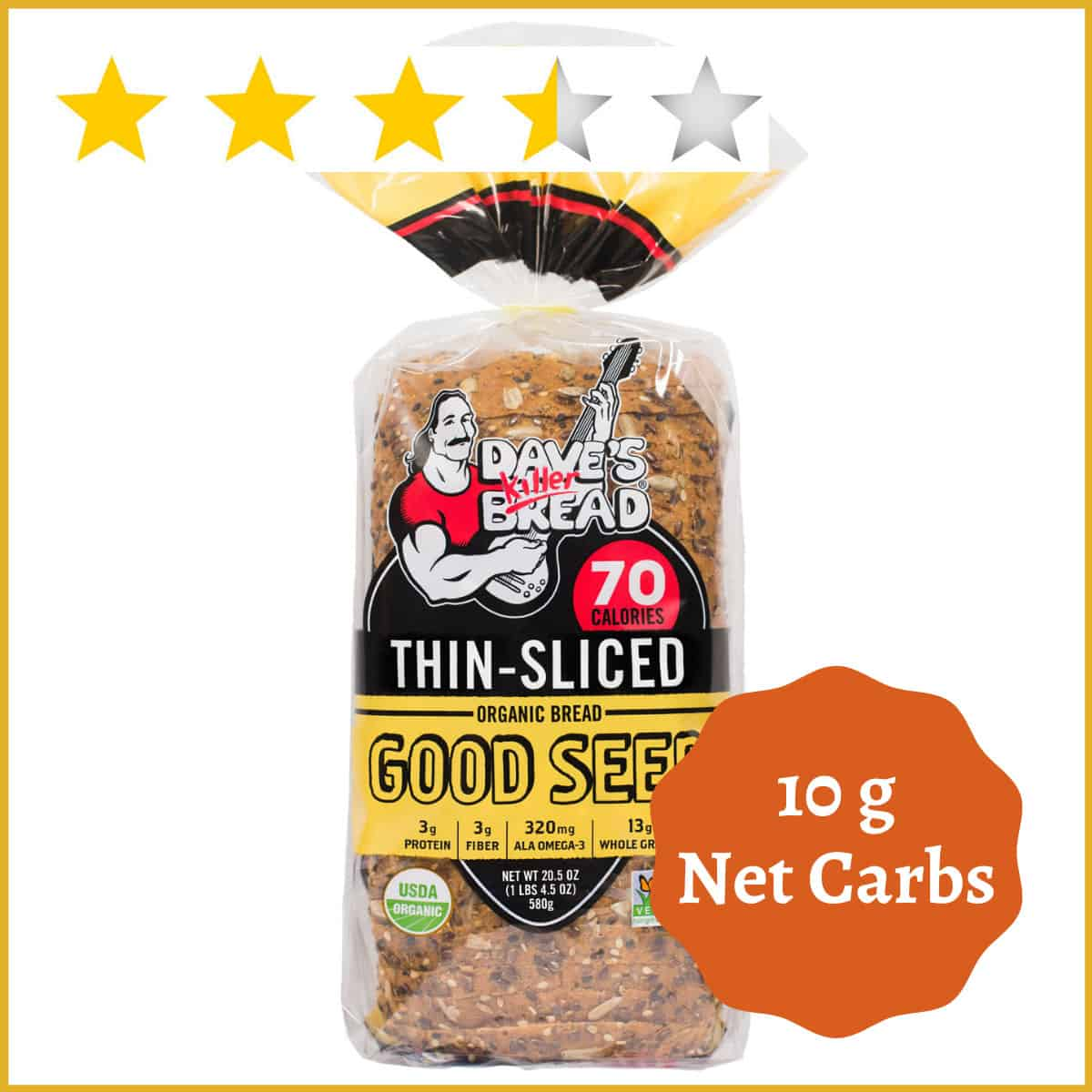 Dave's Killer Bread - Good Seed Thin-Sliced
