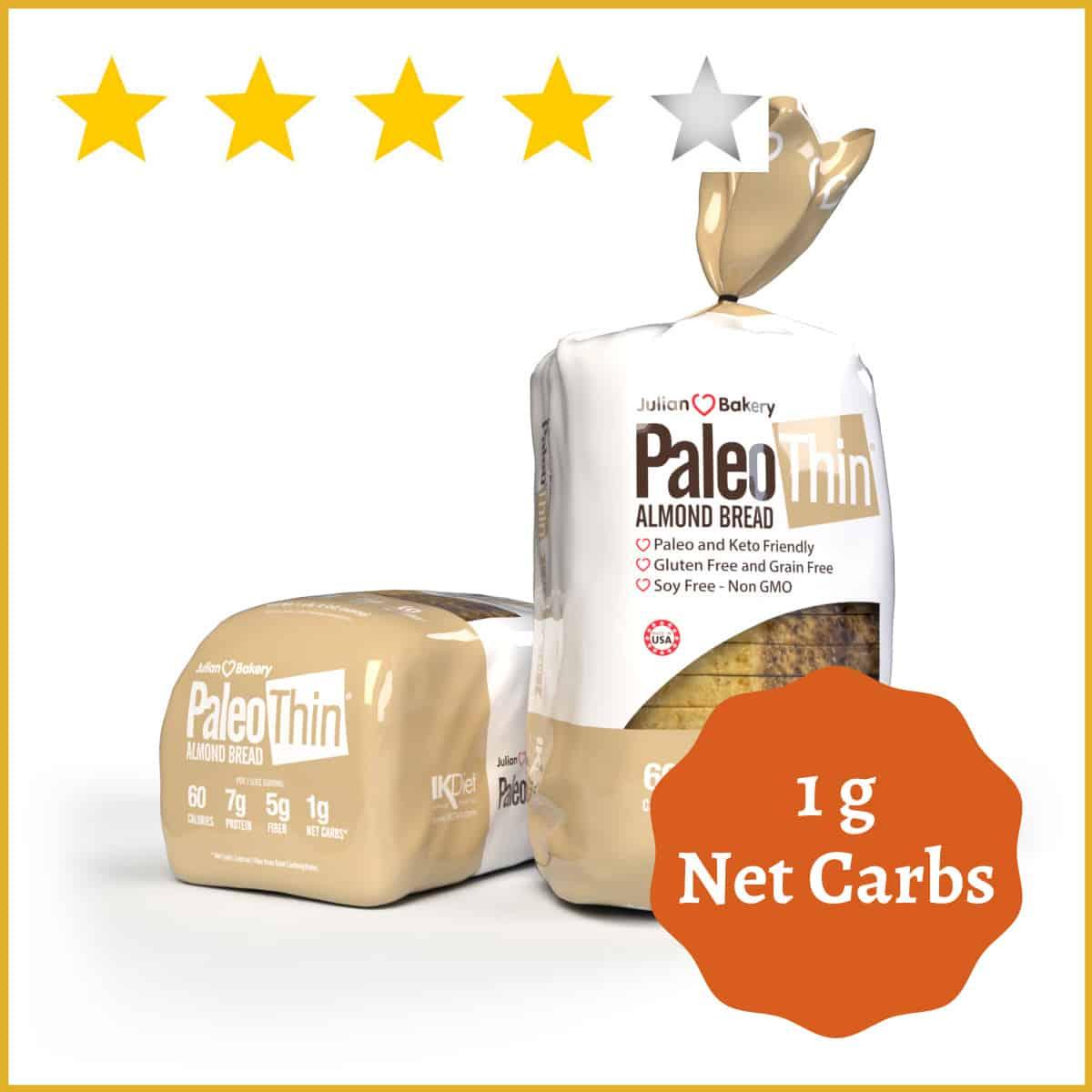 Julian Bakery Paleo Thin