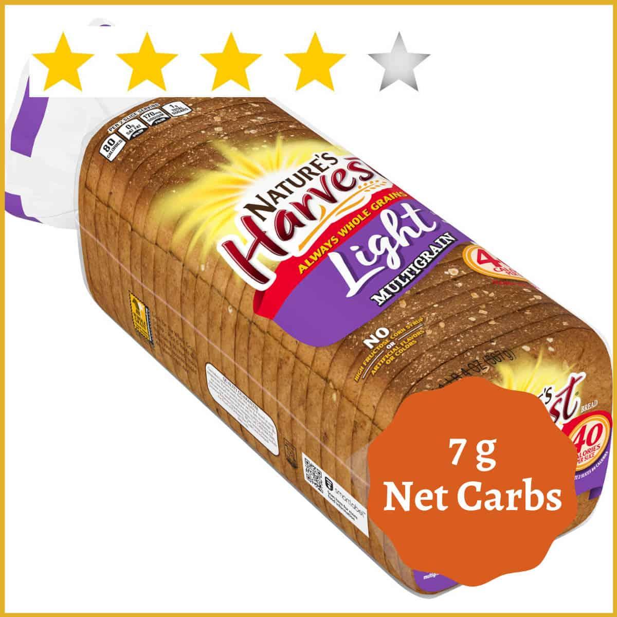 Nature's Harvest Light Multigrain Bread