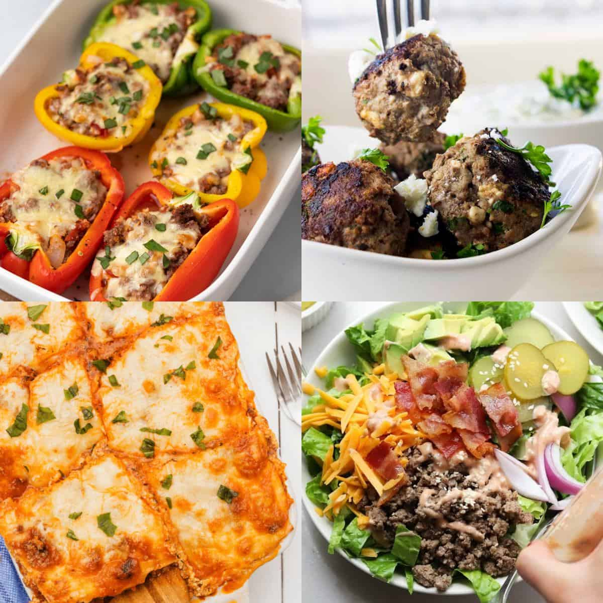 10 Low Carb Ground Beef Recipes Diabetes Strong