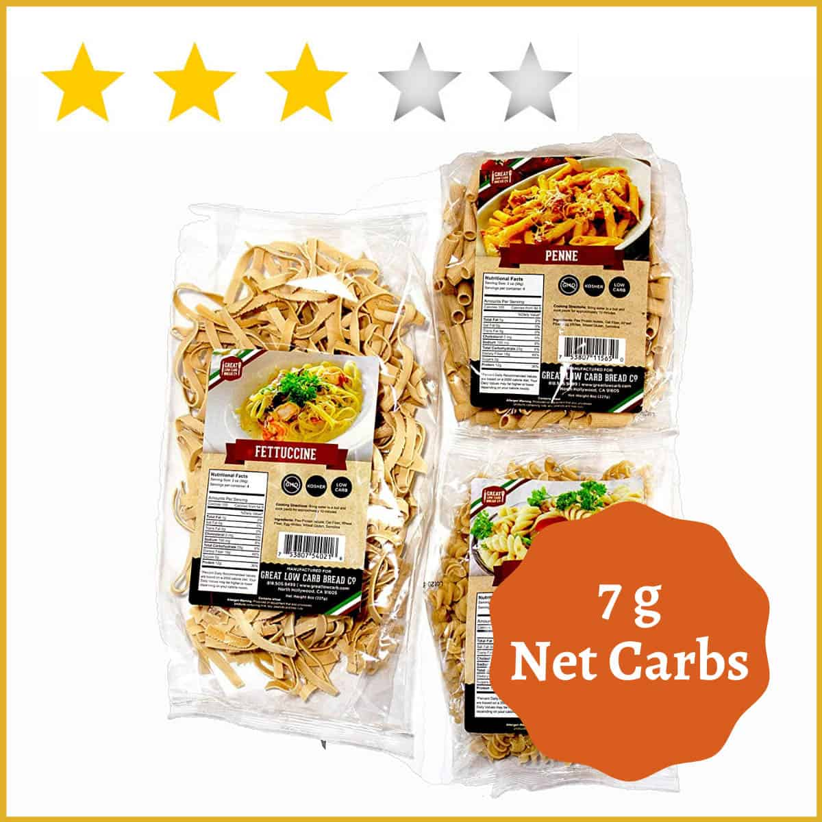 Great Low Carb Bread Company  – Fettuccine Pasta
