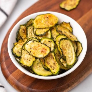 Low-Carb Baked Zucchini Chips