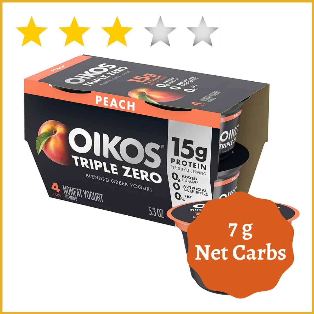 Oikos Triple Zero Greek Nonfat Yogurt