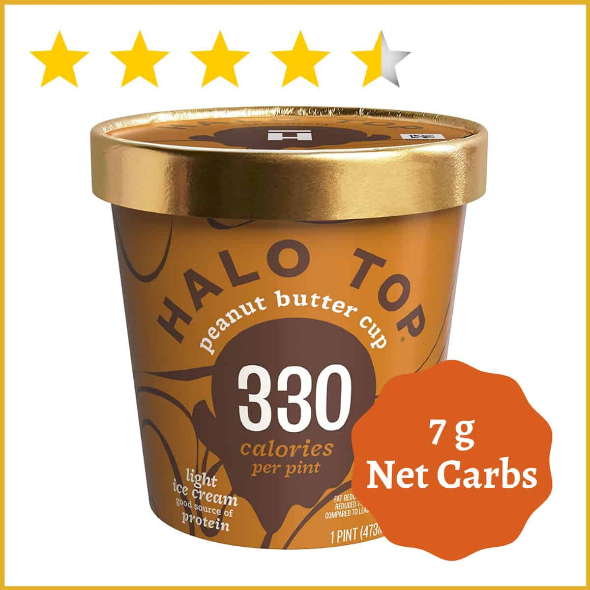 Halo Top Creamery, Peanut Butter Cup