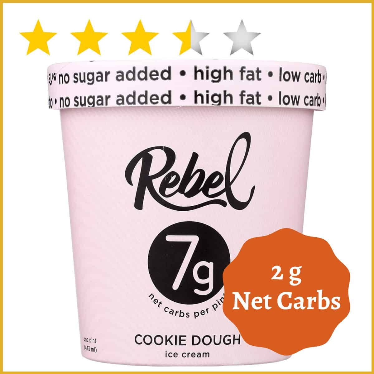 Rebel Ice Cream, Cookie Dough