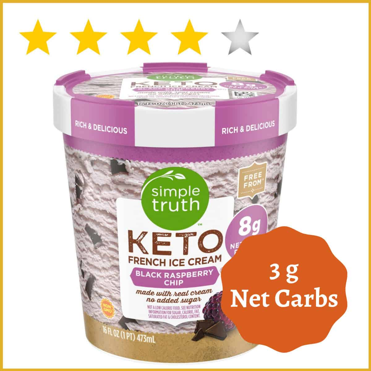 Simple Truth, Keto French Ice cream